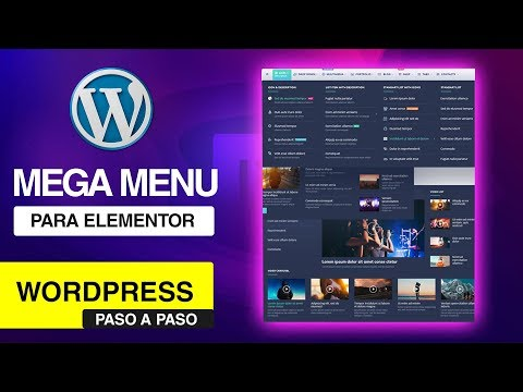 📲 Wordpress 2018| 💬 Elementor Pro Menu | NUEVO Mega Menu Jet Elements