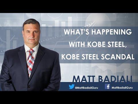 What's happening with Kobe Steel, The Kobe Steel scandal - Matt Badiali
