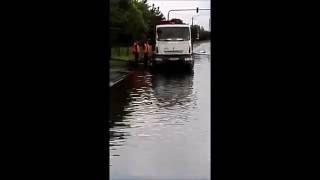 Curți, anexe și pasaje sub apă, în Arad