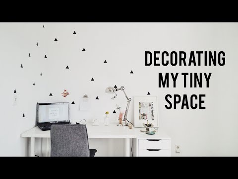 Decorating My Tiny Space   Ch▲r ▼illen▲