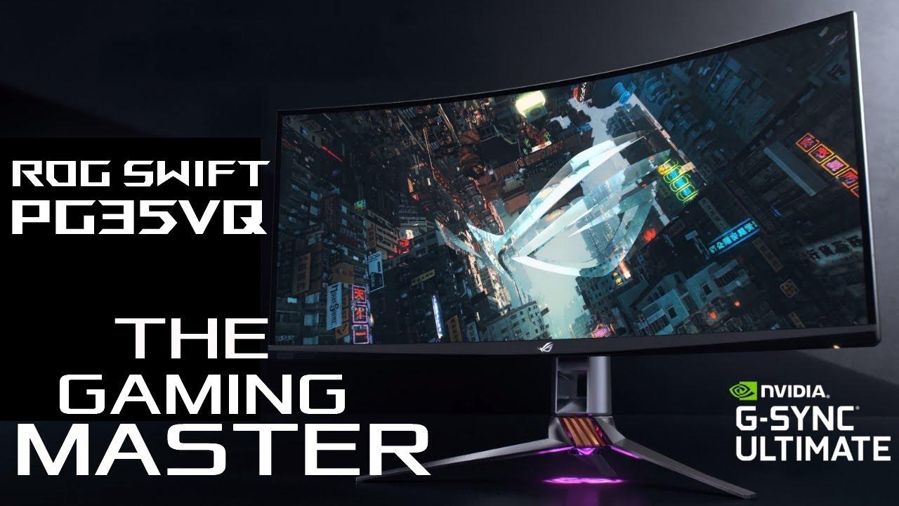 ROG Swift PG35VQ - The Gaming Master   ROG