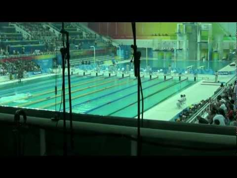 2008-08-09 Beijing Olympic Swimming Games in Water Cube 在水立方看游泳