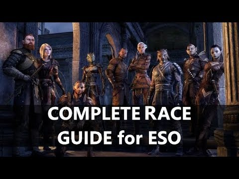 Eso Best Healer Race 2020 ESO l Complete Race Guide, What race to pick?   YouTube