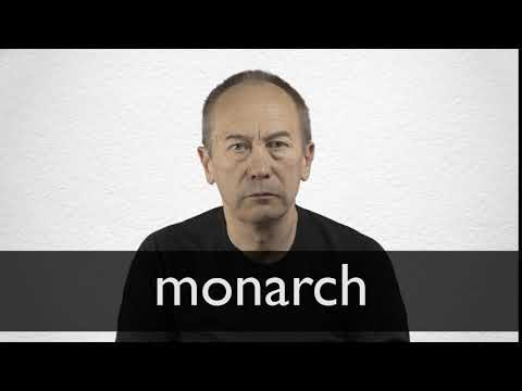 How to pronounce MONARCH in British English