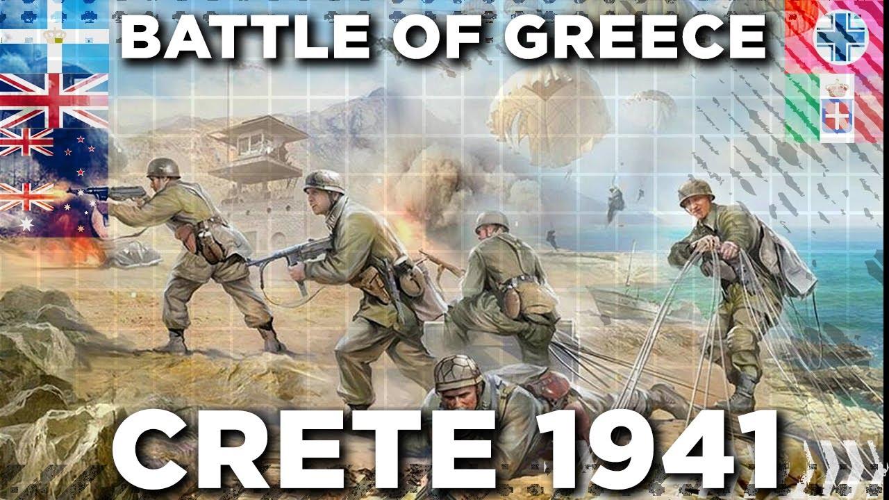 Battle of Crete 1941 - World War II DOCUMENTARY