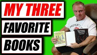 My 3 Favorite Books for fitness & Life