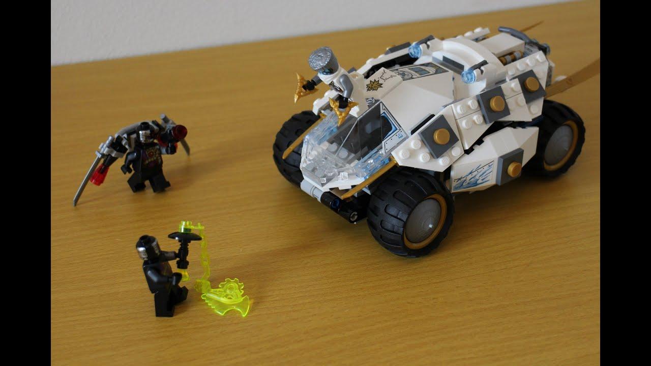 70755 LEGO Ниндзяго Тропический багги Зеленого ниндзя - YouTube