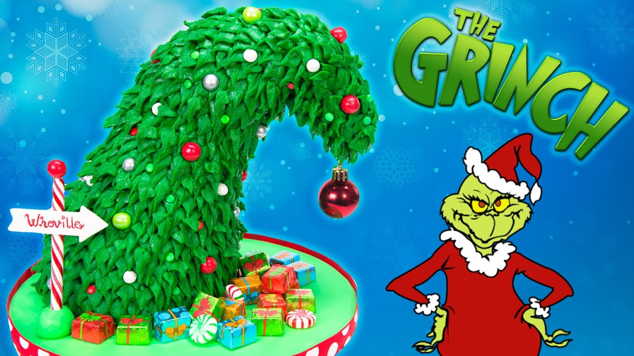 grinch christmas tree cake how the grinch stole christmas cake youtube