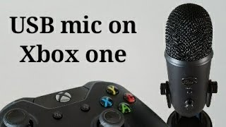 How to use a USB mic on xbox one no extra wires needed!