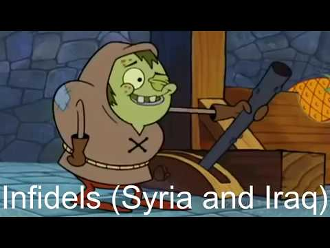 Oppressed people portrayed by Spongebob
