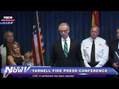 FNN: Yarnell Hill Fire Settlement Press Conference