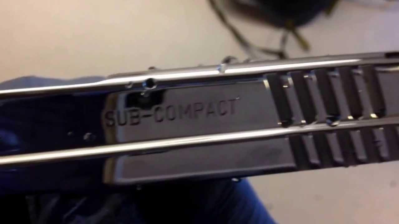 Springfield Sub Compact Mirror Polishingslide Polishing Gun