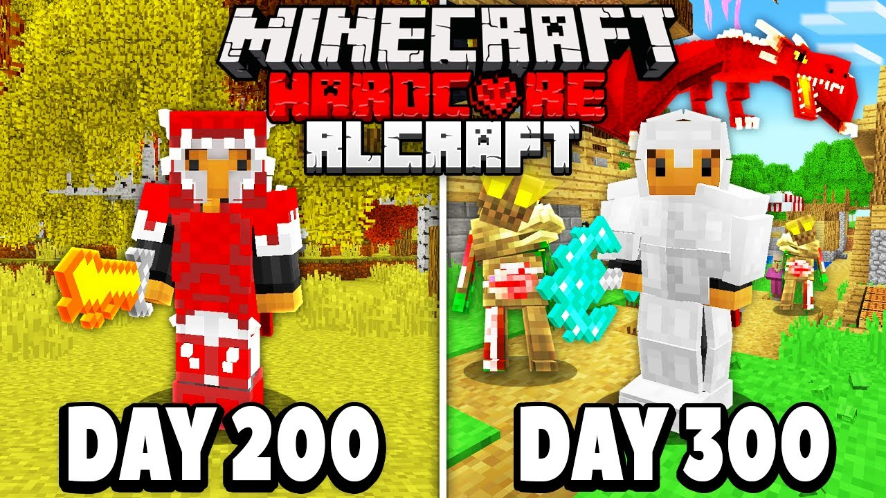 Download I Spent 300 days in HARDCORE RLCraft.. Here's What Happened..