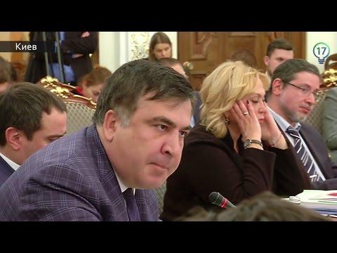 Аваков опубликовал видео скандальной перепалки с Саакашвили (полная версия)