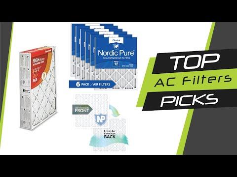5 Best AC Filters
