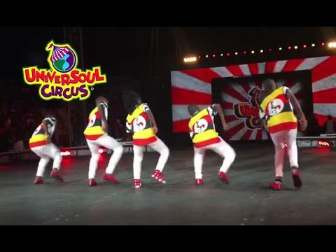 Triplets Ghetto Kids Fire Up Universoul Circus USA (Chicago