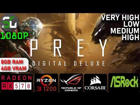 Prey RYZEN 3 1200 RX 570 4GB [2020] |