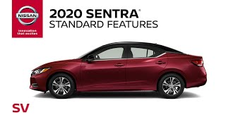homepage tile video photo for 2020 Nissan Sentra SV Walkaround & Review
