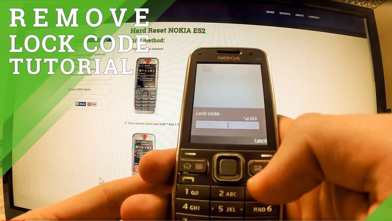 Nokia Flash - remove lock code by using the Phoenix Service Software