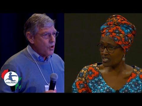 Ugandan Oxfam Director Winnie Byanyima's Epic Take Down of Yahoo CFO