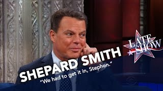 Shepard Smith Recalls The Moment He Learned Snookie Was Pregnant