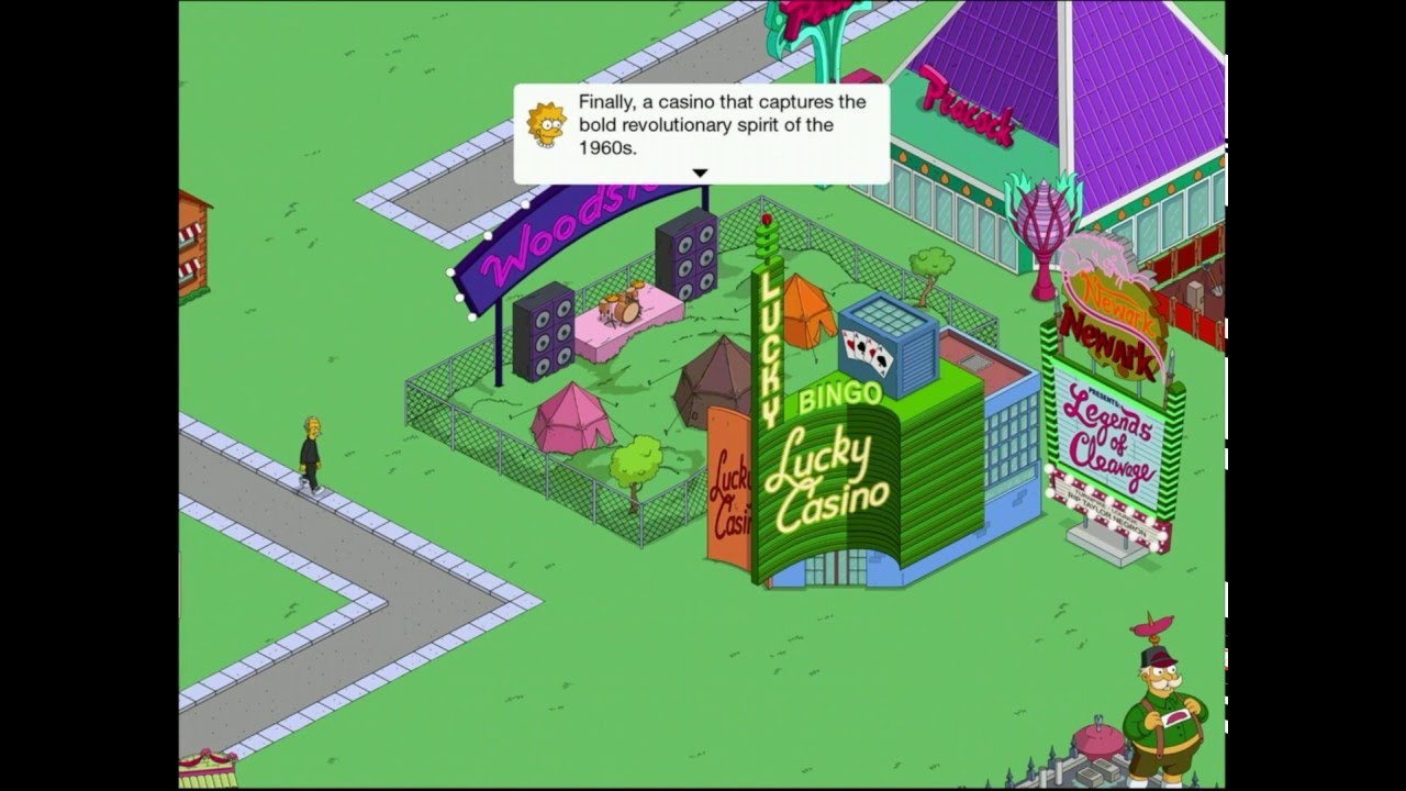 Tapped Out Burns Casino