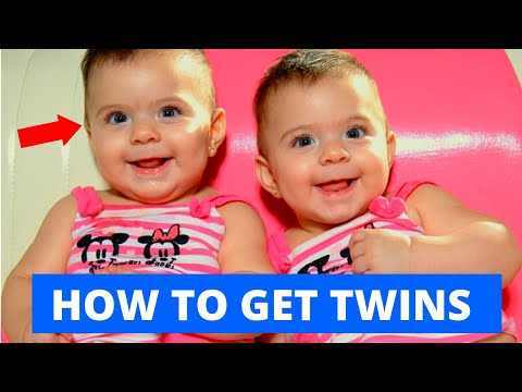 👶👶 How To GET PREGNANT WITH TWINS Naturally & Medically (Science-based)