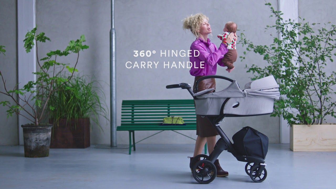 New Stokke Xplory Stroller Feature Carry Cot