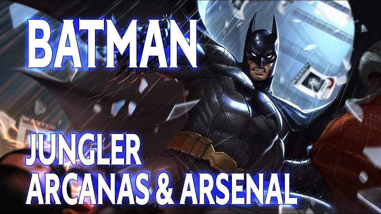 BATMAN UN HEROS JUNGLE SURPUISSANT ! BUILD ARENA OF VALOR