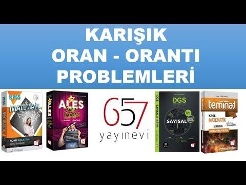 Karışık Oran Orantı Problemleri - KPSS - ALES - DGS - Umut Türkyılmaz