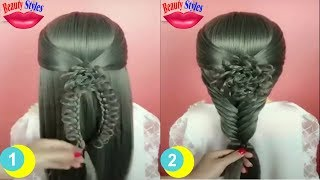 Cinderella hairstyle for kids and ladies holiday hairstyles