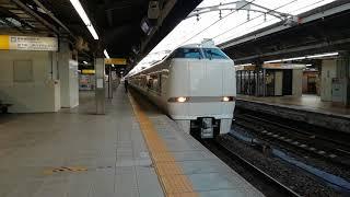 681系特急しらさぎ1号金沢行名古屋4番線発車