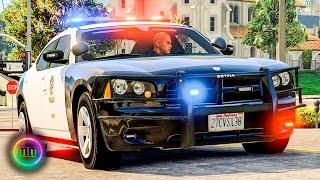GTA 5 - LSPDFR Patrol - Bus Pursuit + Gang Shootout! - Vloggest