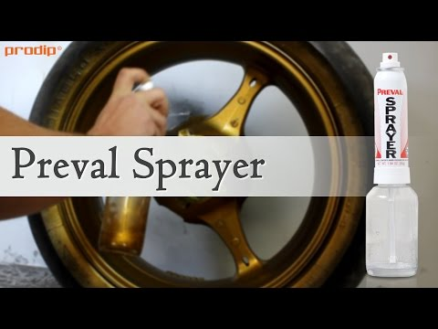 Using Preval Sprayer for applying Plasti Dip and Dip Pearls