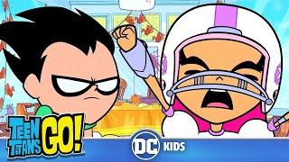 Teen Titans Go! En Español | Familia y Acción De Gracias | DC Kids