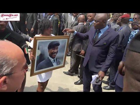 Deuil: levée de corps de Laurent Pokou à IVOSEP en présence du Vice Président Duncan