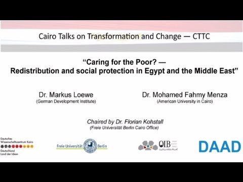 CTTC   Caring for the Poor   Redistribution and social protection in Egypt and the Middle East