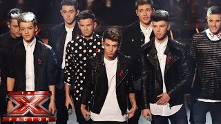 Stereo Kicks sing Michael Jackson's You Are Not Alone  | Live Week 5 | The X Factor UK 2014