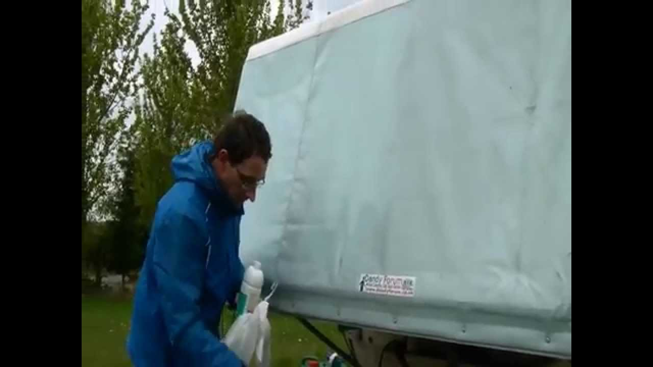 Cleaning your Dandy Trailer Tent & Cleaning your Dandy Trailer Tent - YouTube