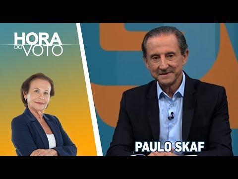 Hora do Voto - Eleições 2018 - Maria Lydia e Rodolpho Gamberini entrevistam Paulo Skaf