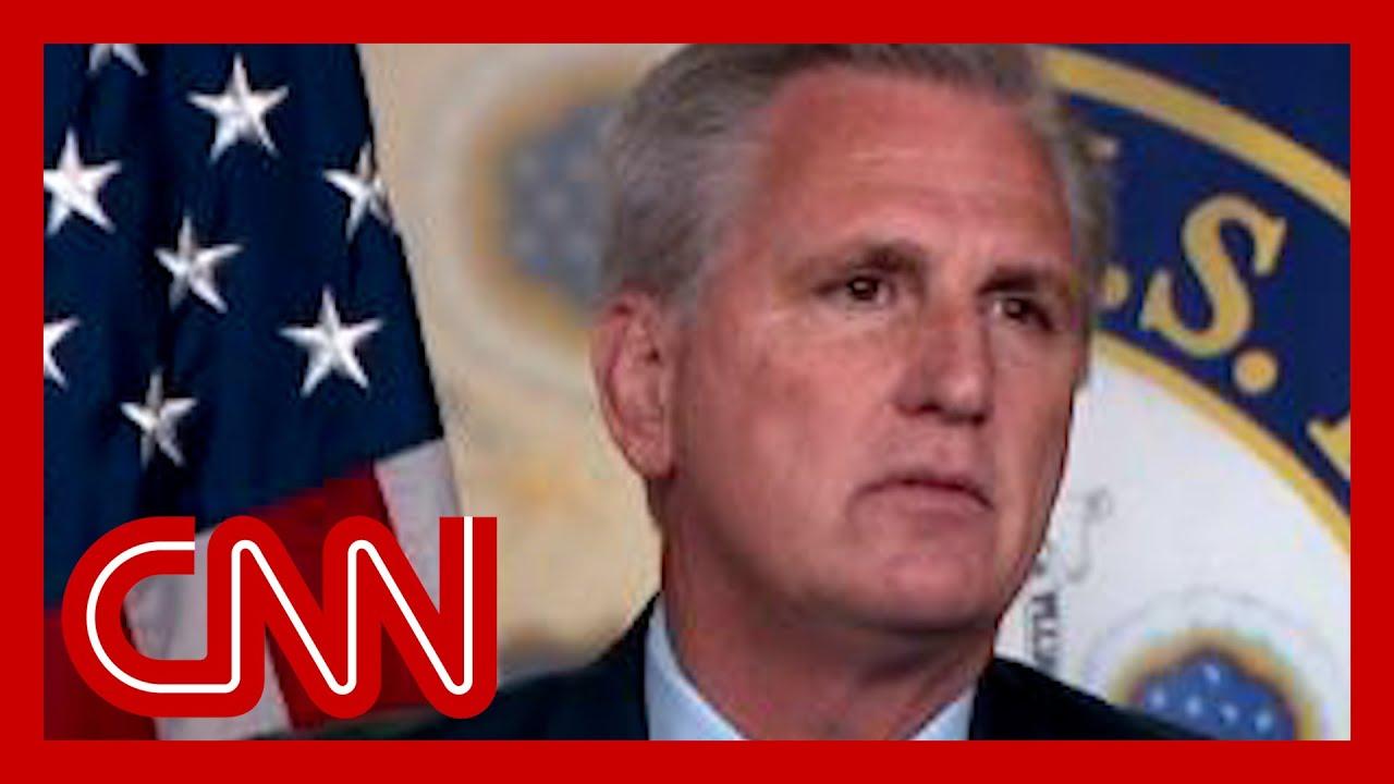 Download McCarthy slams Pelosi, pulls his picks from January 6 committee