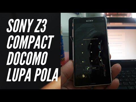 Buka Kunci Sony Z3 Compact Docomo SO 02G Dengan File Lock Remove Dan Flashtool