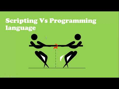 Scripting Vs Programming