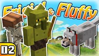 FRIGIEL & FLUFFY : Des mobs légendaires ?!? | Minecraft - S7 Ep.02