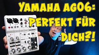 YAMAHA AG06 YAMAHA AG03 Vorstellung | Test und Review | TechBoss | Deutsch | 2020