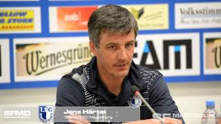 pressekonferenz 1 fc magdeburg gegen vfb auerbach 3 0 3 0 www sportfotos md de