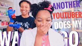 Another Youtuber Does My WASH N GO!!! | Low Porosity vs High Porosity