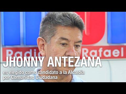 CC presenta a Jhonny Antezana como candidato a la Alcaldía de Cochabamba