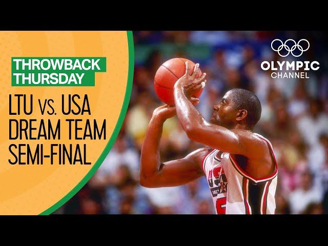 Lithuania vs. USA's Dream Team -  Full Basketball Replay | Throwback Thursday