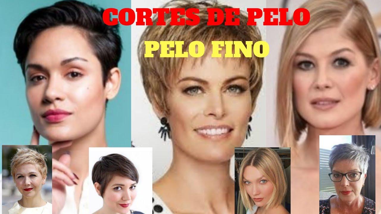 Cortes De Pelo 2020 Corte De Cabello Para Mujer Pelo Fino 35 70años Youtube